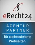 eRecht 24 - Unser enzian Agentur Partner für rechtssichere Webseiten